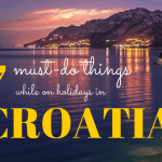 Guest post on How to spend your holidays in Croatia?