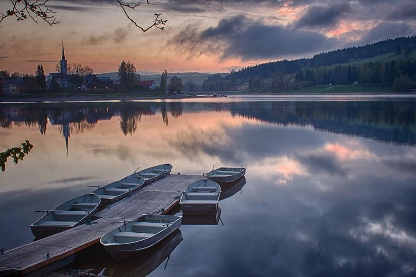 Lipno lake