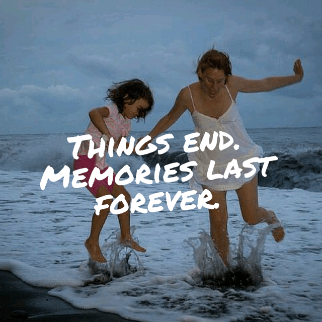 things end