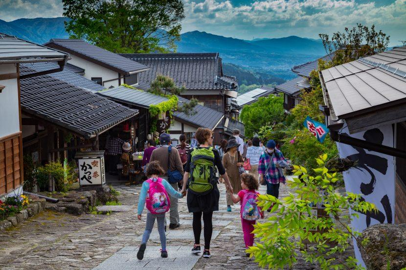 traveling with kids Japan