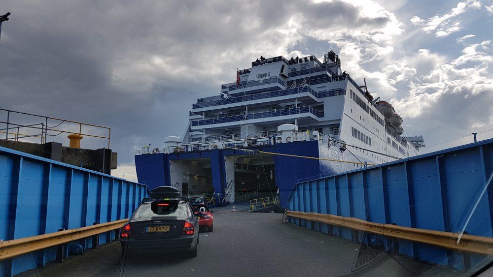 ferry to Scotland